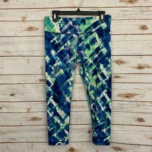 90 Degree by Reflex Watercolor Activewear Capris